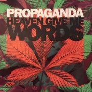 """""""HEAVEN GIVE ME WORDS / PROPAGANDA"""" 1990年"""