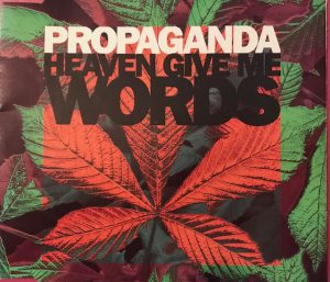 """HEAVEN GIVE ME WORDS / PROPAGANDA"" 1990年"