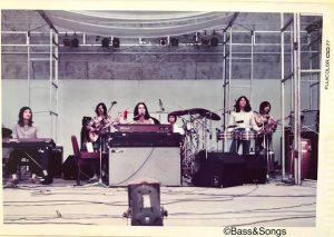 1977年 佐藤博withハイタイムス日比谷野音ライブ