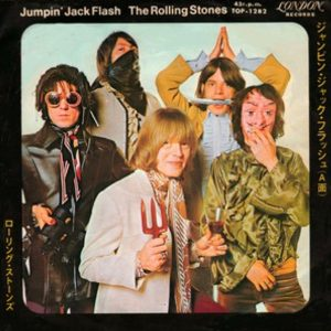 "([シングル]""Jumping jack flash / The Rolling Stones"" 1968年)"