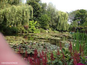2012年6月のフランスジヴェルニーのモネの庭です。