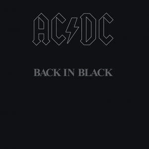 "(""BACK IN BLACK / AC/DC"" 1980年)"