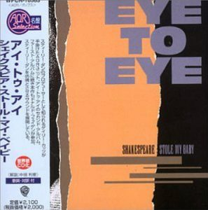 "(""SHAKESPEARE STOLE MY BABY / Eye To Eye"" 1983年)"