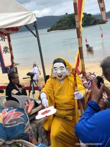 昨年西表島に訪れたのは10月。不思議なお祭りに出会いました。その祭りの神様の名前が「ミルク様」