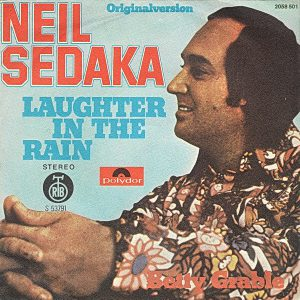 "(""Laughter In The Rain / Neil Sedaka"" 1975年)"