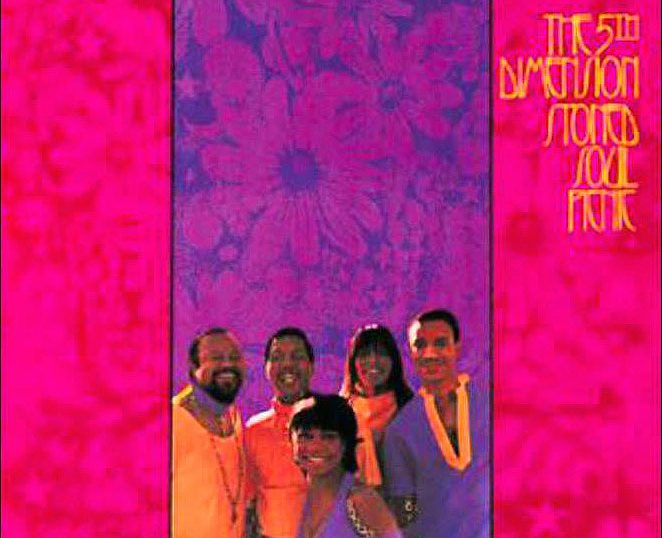 "(""Stoned Soul Picnic / The Fifth Dimension"" 1968年)"