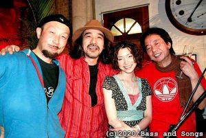 2008年3月のKK session (伊藤広規・南沢Kaz)ゲストにSHANTI(vo)と西山Hank(g)