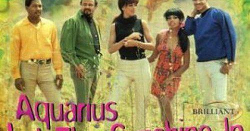 "(""The Age of Aquarius / The 5th Dimension"" 1969年)"