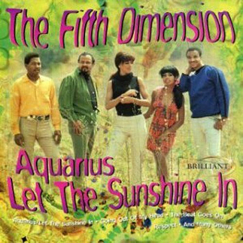 "(""The Age of Aquarius / The 5th Dimension"" 1969年)"