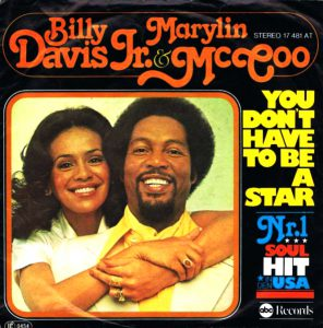 You Don't Have To Be A Star(Original Version) / Marilyn McCoo & Billy Davis Jr.
