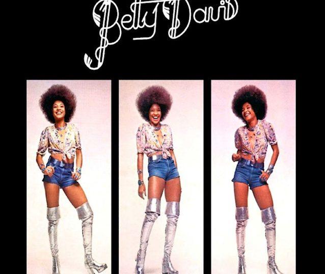 "(""Betty Davis / Betty Davis"" 1973年)"