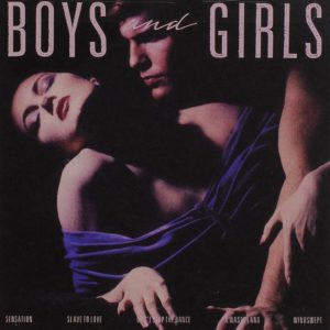 "(""Boys & Girls / Bryan Ferry"" 1985年)"