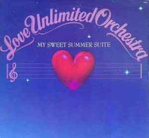 """(""""My Sweet Summer Suite / The Love Unlimited Orchestra"""" 1976年)"""