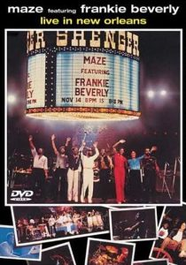 """DVD(""""Live in New Orleans / Maze Feat. Frankie Beverly"""" 1981年)"""