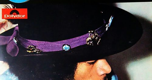 "(""Purple Haze / The Jimi Hendrix Experience"" 1967年)"
