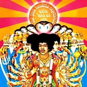 "(""Axis: Bold As Love / The Jimi Hendrix Experience"" 1967年)"