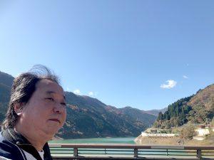 奥秩父もみじ湖周辺の山々の紅葉、あー!素晴らしい~!