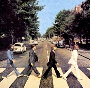 "(""Abbey Road / The Beatles"" 1969年)"