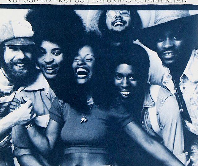 """(""""Rufusized / Rufus featuring Chaka Khan"""" 1974年)"""