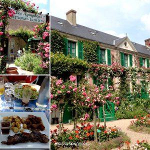 フランスのジベルニーのクロードモネの家の庭