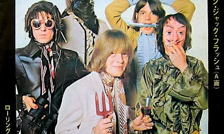 """([Sg]""""Jumpin' Jack Flash / The Rolling Stones"""" 1968年)"""